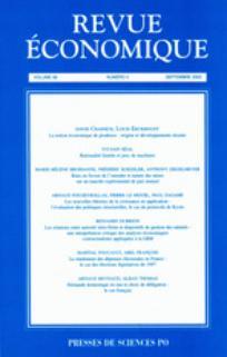Revue économique 2005/5