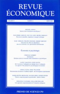 Revue économique 2006/2