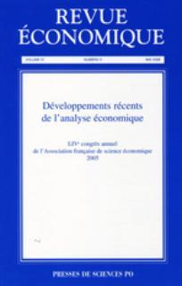 Revue économique 2006/3