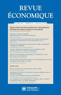 Revue économique 2010/6