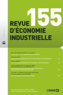 Revue d'économie industrielle
