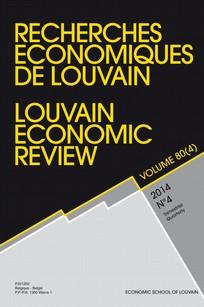 Recherches économiques de Louvain