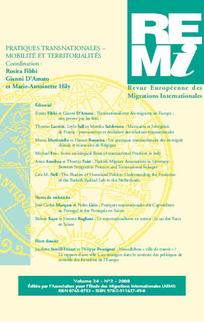 Revue européenne des migrations internationales 2008/2