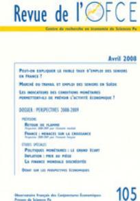 Revue de l'OFCE 2008/2