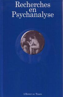 Recherches en psychanalyse 2009/2