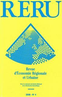 Revue d'Économie Régionale & Urbaine 2005/4