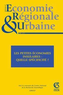 Revue d'Économie Régionale & Urbaine 2007/1