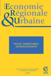 Revue d'Économie Régionale & Urbaine 2007/4
