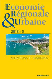 Revue d'Économie Régionale & Urbaine 2013/5