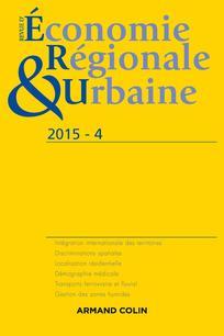 Revue d'Économie Régionale & Urbaine