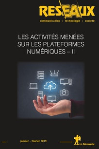 Vignette document Les  activités menées sur les plateformes numériques (dossier)