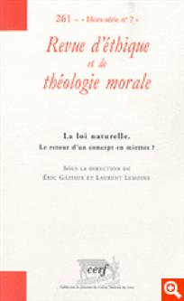 Revue d'éthique et de théologie morale 2010/HS