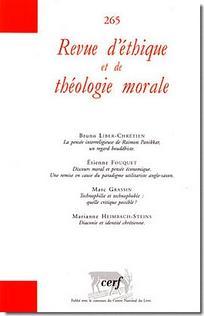 Revue d'éthique et de théologie morale 2011/3