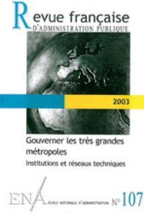 Revue française d'administration publique 2003/3