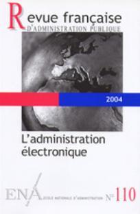 Revue française d'administration publique 2004/2