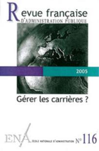 Revue française d'administration publique 2005/4