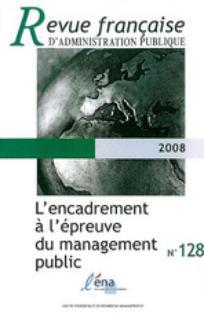 Revue française d'administration publique 2008/4