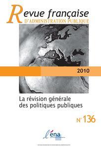couverture de RFAP_136