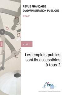 couverture de RFAP_153