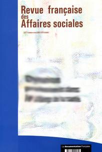 Revue française des affaires sociales 2001/3