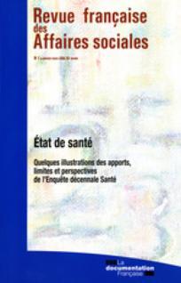 Revue française des affaires sociales 2008/1