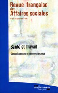 Revue française des affaires sociales 2008/2