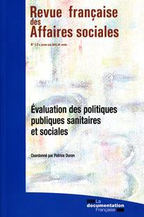 Revue française des affaires sociales 2010/1