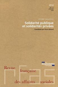 Revue française des affaires sociales 2014/1