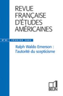 Revue française d'études américaines 2002/1
