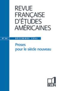 Revue française d'études américaines 2002/4