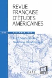 Revue française d'études américaines 2003/4