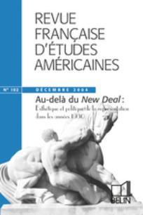 Revue française d'études américaines 2004/4