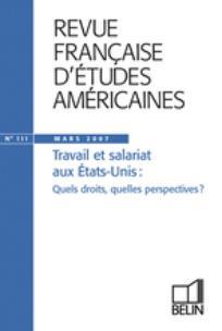 Revue française d'études américaines 2007/1
