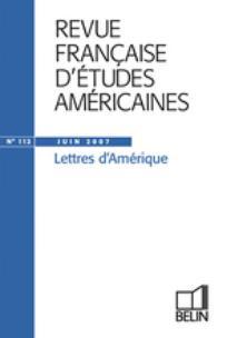 Revue française d'études américaines 2007/2