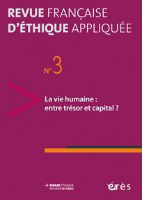 Revue française d'éthique appliquée 2017/1