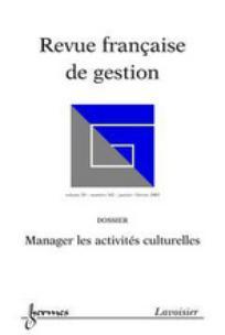 Revue française de gestion 2003/1