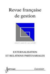 Revue française de gestion 2003/2