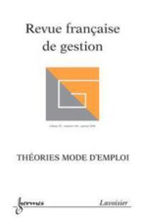 Revue française de gestion 2006/1