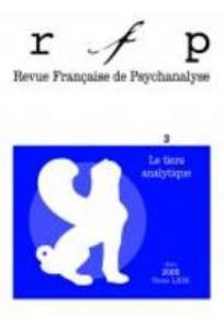 Revue française de psychanalyse 2004/3