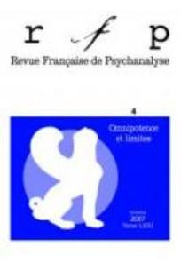 Revue française de psychanalyse 2007/4