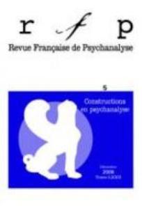 Revue française de psychanalyse 2008/5