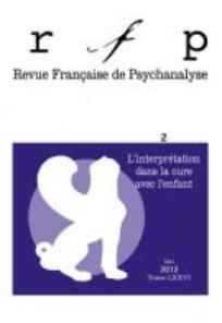 Revue française de psychanalyse 2012/2