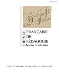 Revue française de pédagogie 2009/4