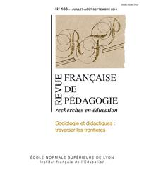 Revue française de pédagogie 2014/3