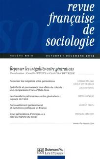 Revue française de sociologie 2013/4