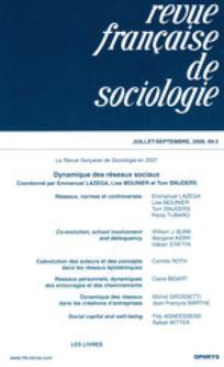 Revue française de sociologie 2008/3