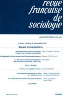 Revue française de sociologie 2009/3
