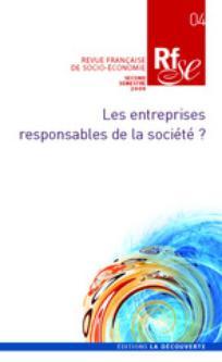 Revue Française de Socio-Économie 2009/2