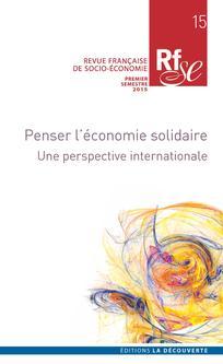 Revue Française de Socio-Économie 2015/1