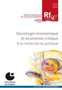Revue Française de Socio-Économie 2015/2